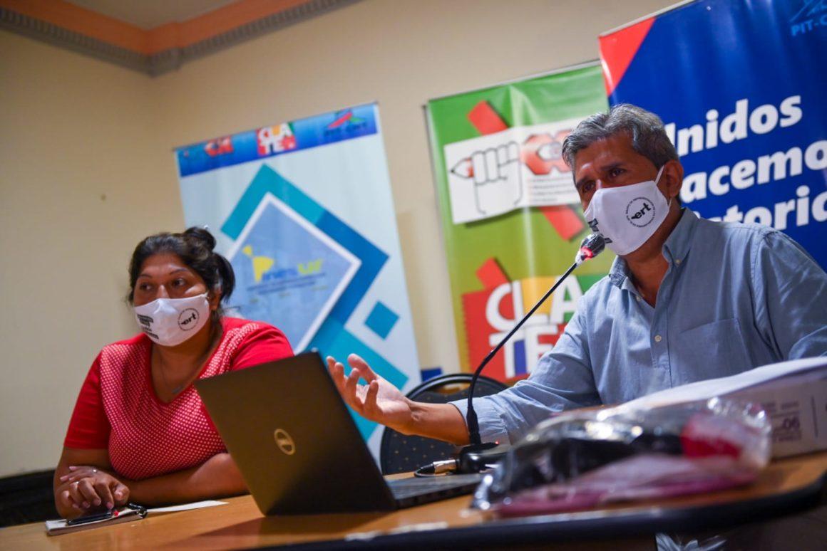 Informe de avances en la discusión de Seguridad Social.
