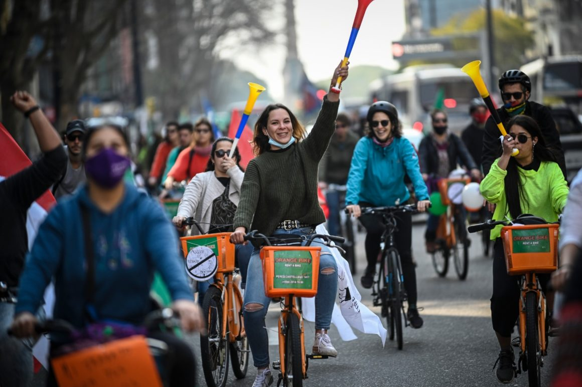 COFE se adueñó de las calles de Montevideo